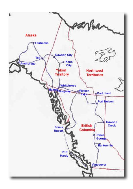 Dawson Creek To Barkerville